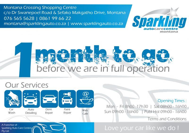 Sparkling Auto Care Centre Montana - Pretoria