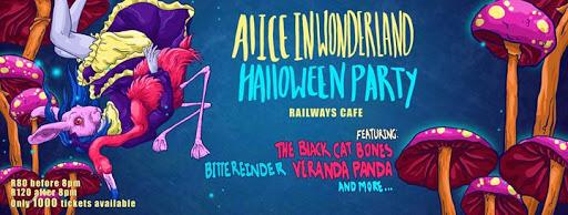 Alice in Wonderland Haloween Party 2017 - Irene
