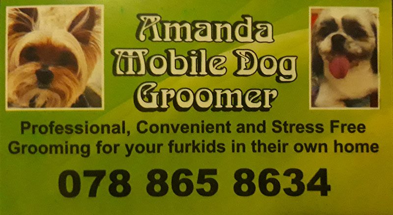 Amanda Mobile Dog Groomer - Hermanstad Pretoria