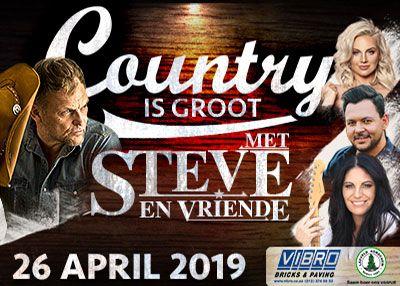 Country Is Groot met Steve Hofmeyr - Sun Arena @ Time Square