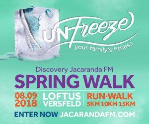 Discovery Jacaranda FM Spring Walk 2018 - Loftus Versveld