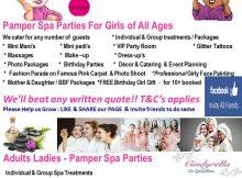 Divine Divas Pamper Parties - Moregloed Pretoria