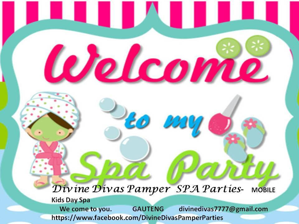 Divine Divas - Mobile Pamper Parties - Pretoria