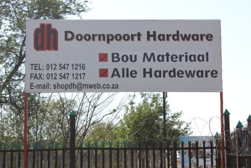 Doornpoort Hardware Store - Wonderboom