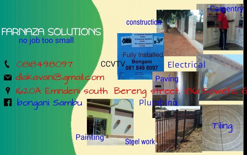 Farnaza Solutions Home Improvements - Gauteng