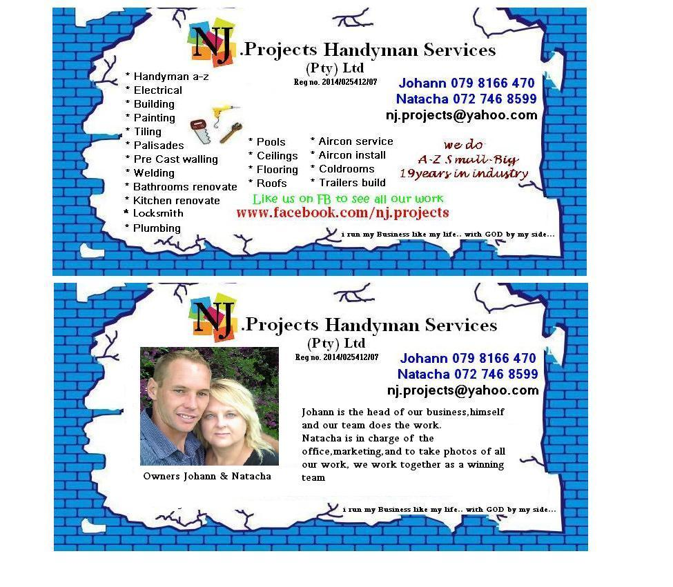 Handyman Services NJ Projects - Pretoria