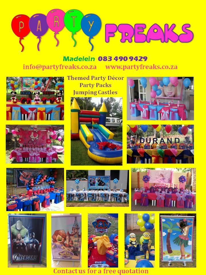 Party Freaks Equipment Rental - Pretoria