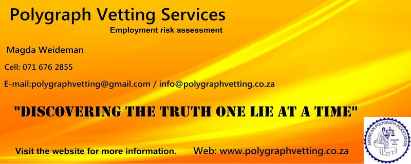 Lie Detector Tests - Montana Pretoria