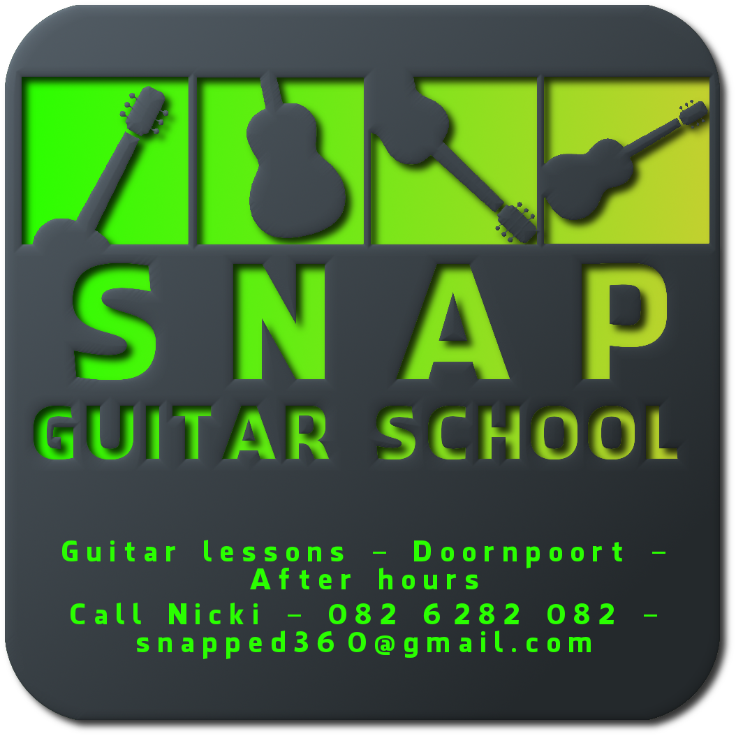 Snap Guitar School - Guitar Lessons - Doornpoort
