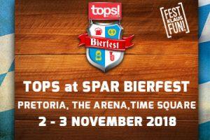 TOPS @ SPAR Bierfest Pretoria 2018 - Gauteng
