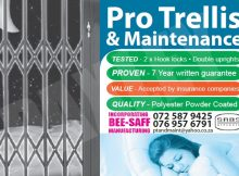 Trellis Retractable Security Doors - Wonderboom South
