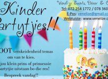 Venelize Tema Kinder Partytjies - Pretoria