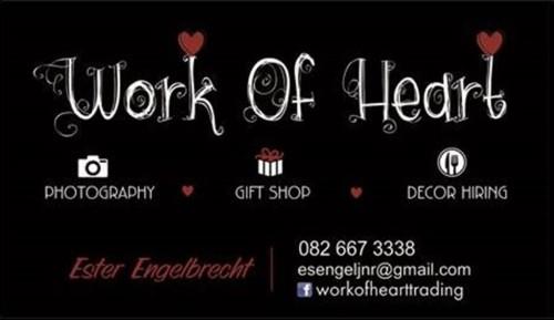 Work of Heart - Decor Hire - Gauteng