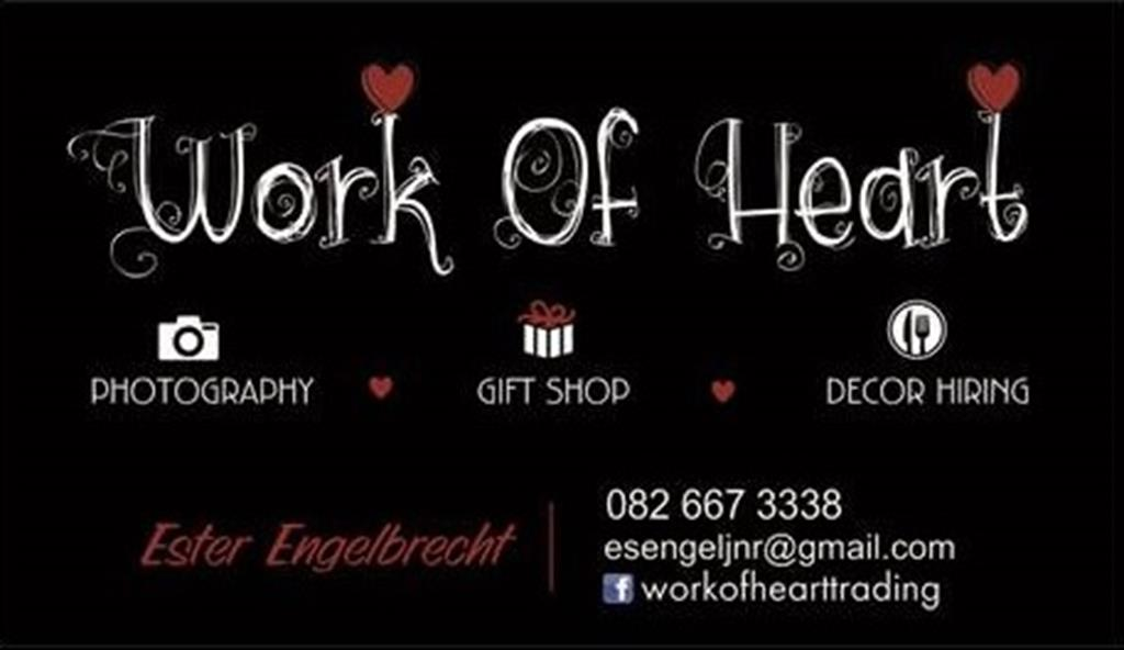 Work of Heart - Decor Hire - Gauteng