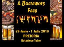 Bier Biltong & Boerewors Fees 2018 - Pretoria Botaniese Tuine