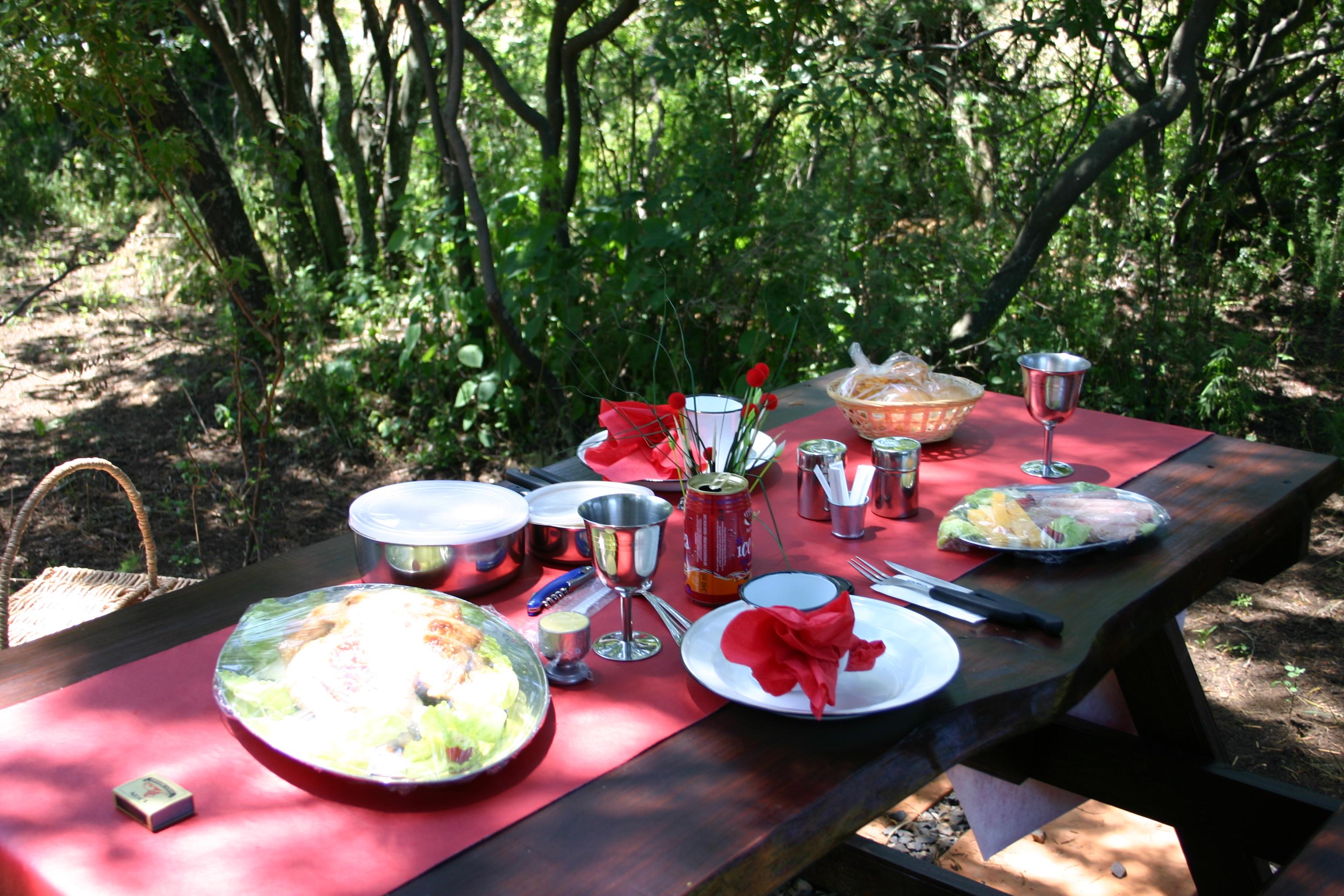 Bundu Bashing Camping Sites