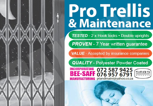 Trellis Retractable Security Doors